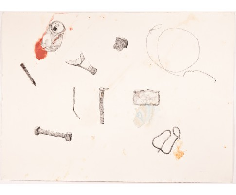 Untitled (Arrangement of Collected Human Artefacts)
