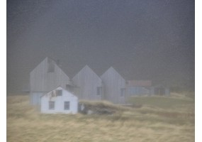Farmhouse Consumed by Fog